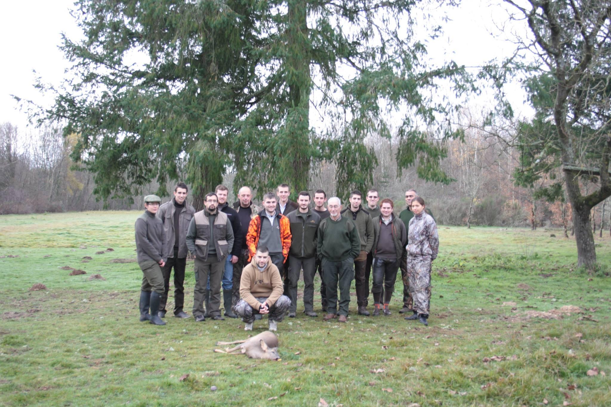 Les jeunes chasseurs du Loir-Et-Cher très actif ce week end du 5 – 6 décembre 2015.