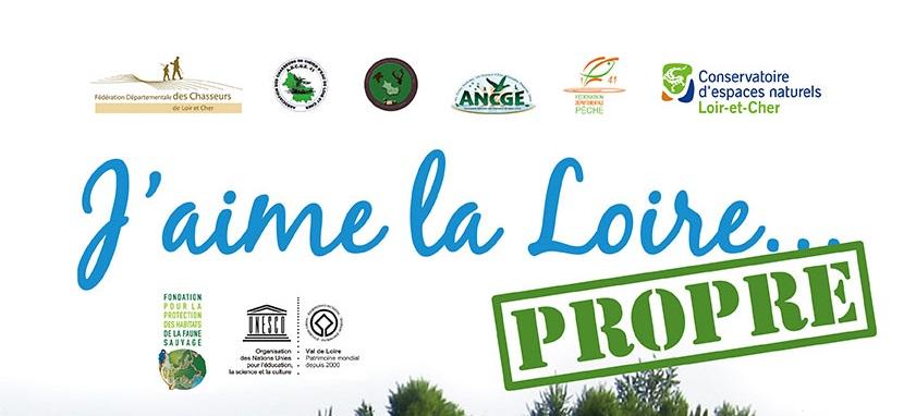 """Opération 2016 """"J'aime la Loire… PROPRE !"""""""