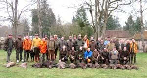 Journée de chasse aux Grands Gibiers à la Ferté – Imbault