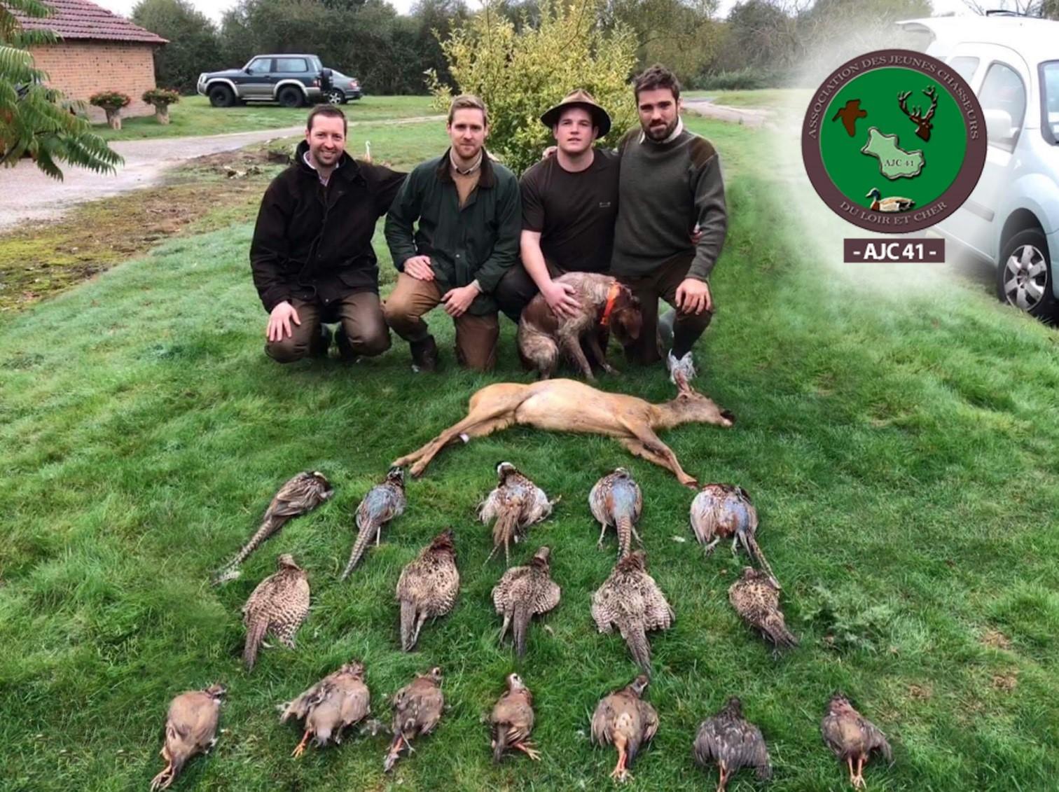 Récit de trois jeunes chasseurs lors d'une chasse à Marcilly-en-Gault