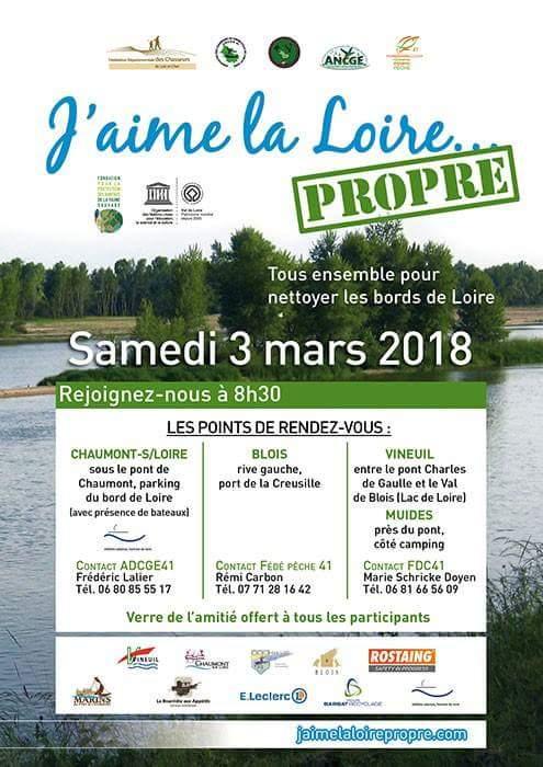 Opération J'aime la Loire PROPRE – Edition 2018