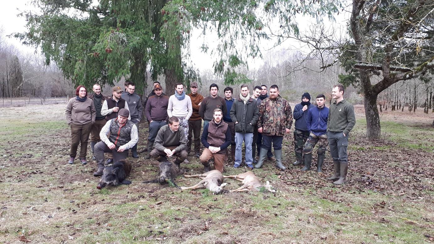 Journée entre jeunes chasseurs – Pierrefite sur Sauldre