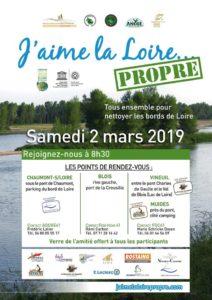 Les Jeunes Chasseurs aiment la Loire Propre…